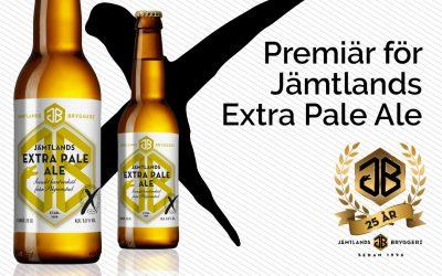 Premiär för Jämtlands Extra Pale Ale